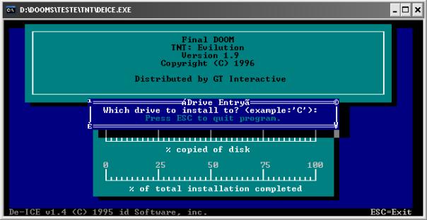 Exemplo de instalador